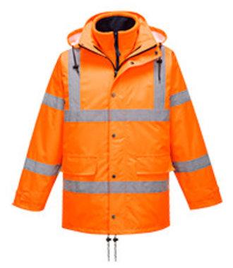 RT63 - Hi-Vis Breathable Traffic Jacket (Interactive) - Orange - R