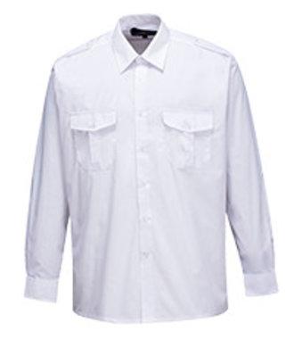 S102 - Pilot Shirt - White - R