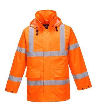 S160 - Hi-Vis Lite Traffic Jacket - Orange - R