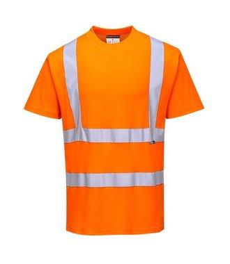 S170 - Cotton Comfort Short Sleeve T-Shirt - Orange - R