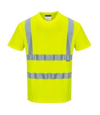S170 - Cotton Comfort Short Sleeve T-Shirt - Yellow - R