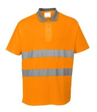 S171 - Cotton Comfort Polo - Orange - R