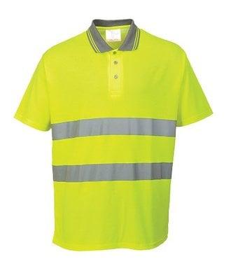 S171 - Cotton Comfort Polo - Yellow - R