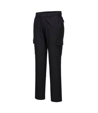 S231 - Stretch Slim Combat Trouser - Black - R
