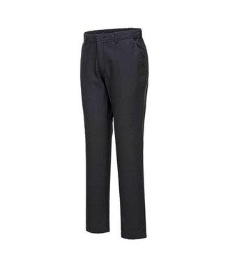 S232 - Stretch Slim Chino Trouser - Black - R