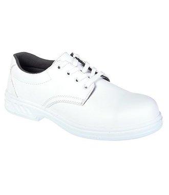 FW80 - Steelite Laced Safety Shoe S2 - White - R