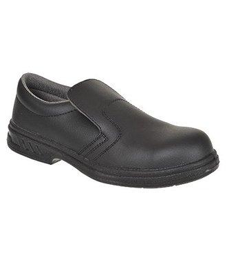 FW81 - Steelite Slip On Safety Shoe S2 - Black - R