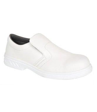 FW81 - Steelite Slip On Safety Shoe S2 - White - R