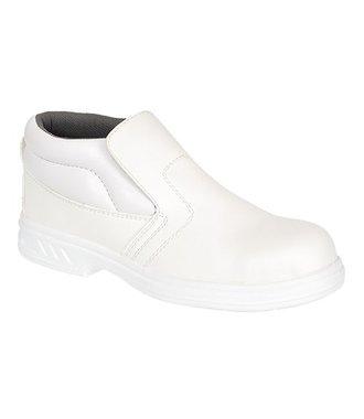 FW83 - Steelite Slip On Safety Boot S2 - White - R