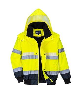 G465 - Glowtex 3-in-1 Jacket - YeNa - R