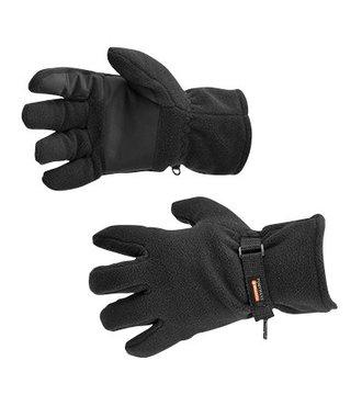 GL12 - Fleece Glove Insulatex Lined - Black - R