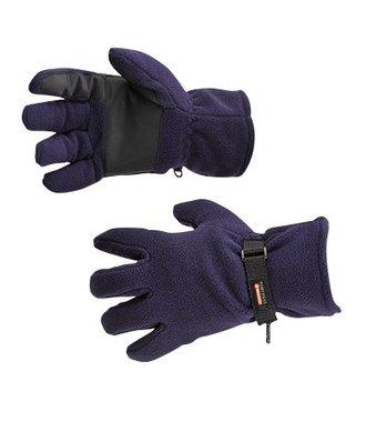 GL12 - Fleece Glove Insulatex Lined - Navy - R