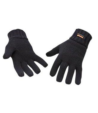 GL13 - Knit Glove Insulatex Lined - Black - R