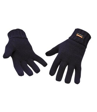 GL13 - Knit Glove Insulatex Lined - Navy - R