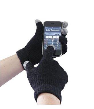 GL16 - Touchscreen Knit Glove - Black - R