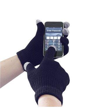 GL16 - Gant tricot pour écran tactile - Navy - R
