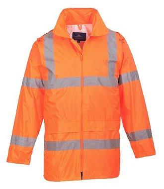 H440 - Hi-Vis Rain Jacket - Orange - R