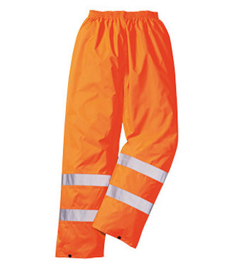 H441 - Hi-Vis Rain Trousers - Orange - R