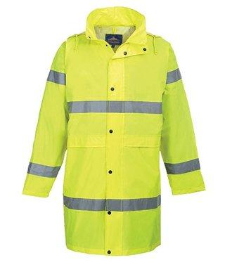 H442 - Hi-Vis Coat 100cm - Yellow - R
