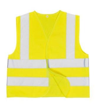 JN14 - Hi-Vis Junior Vest - Yellow - R