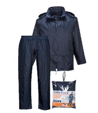 L440 - Essentials Rainsuit (2 Piece Suit) - Navy - R