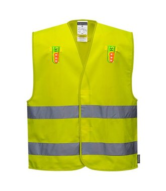L474 - Gilet Polyvalent (options LED possibles) - Yellow - R