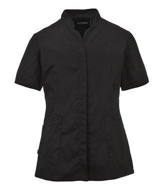 LW12 - Ladies Premier Tunic - Black - R