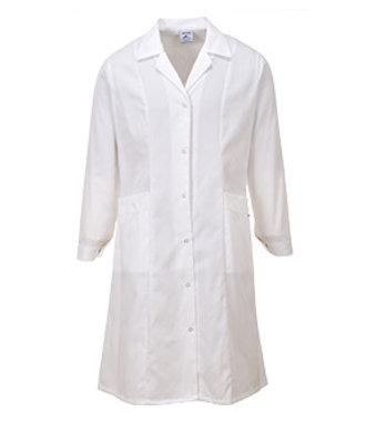 LW56 - Princess Line Coat - White - R