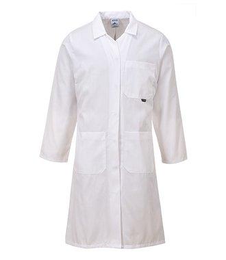LW63 - Standard Ladies Coat - White - R