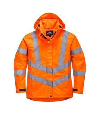 LW70 - Ladies Hi-Vis Breathable Jacket - Orange - R