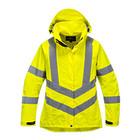 Portwest LW70 - Atmungsaktive Warnschutzjacke für Damen - Yellow - R