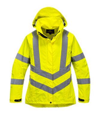 LW70 - Dames Hi-Vis ademend Jack - Yellow - R