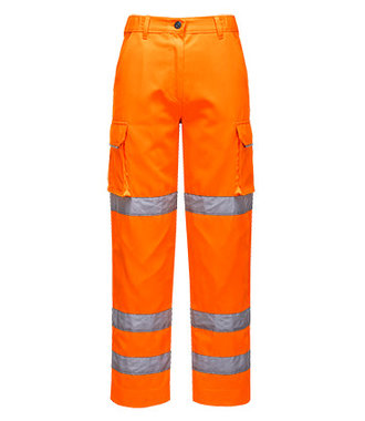 LW71 - Pantalon Femme HiVis - Orange - R