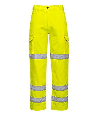 LW71 - Ladies Hi-Vis Trousers - Yellow - R