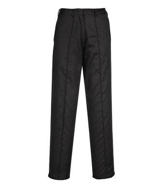 LW97 - Ladies Elasticated Trouser - BlackT - T