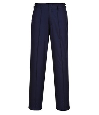 LW97 - Ladies Elasticated Trouser - Navy T - T