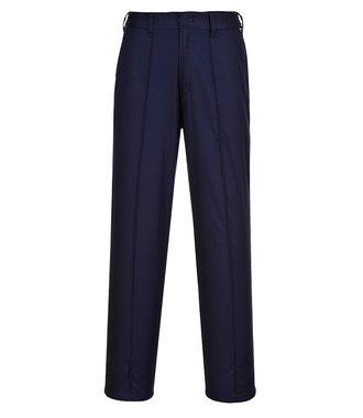 LW97 - Pantalon Femme Elastiqué - Navy T - T