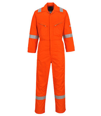 NX50 - Coverall made from Nomex Comfort - Orange - R