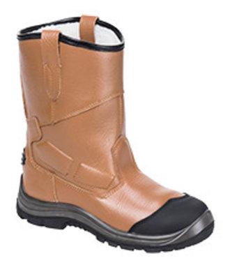 FT12 - Steelite Rigger Boot Pro S3 CI HRO - Tan - R