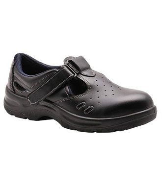 FW01 - Steelite Safety Sandal S1 - Black - R