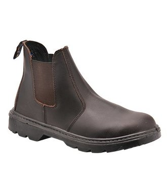 FW51 - Steelite Dealer Boot S1P - Brown - R