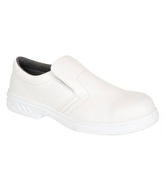 FW58 - Occupational Slip On Shoe O2 - White - R