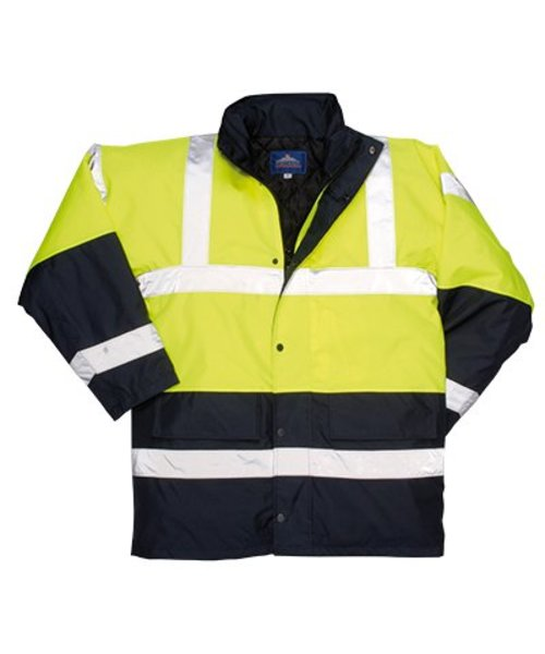 Portwest S466 - Hi-Vis-Kontrast Traffic-Jacke - Yellow - R