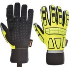 Portwest A725 - Safety Impact Glove Lined - Yellow - R