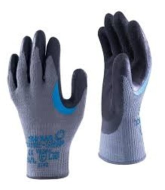 Showa 330 gloves with latex grip and reinforcement at the thumb (10x)