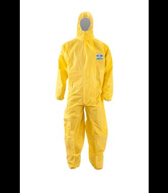 ChemDefend 310 Einwegoverall gelb Typ 3 + 4 + 5