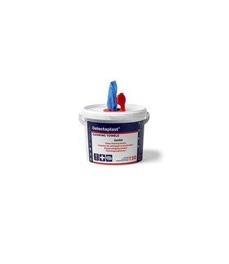 Eimer mit 150 HACCP-Desinfektionstüchern für Hände und Oberflächen - tötet Bakterien, Schimmel und Hefen ab