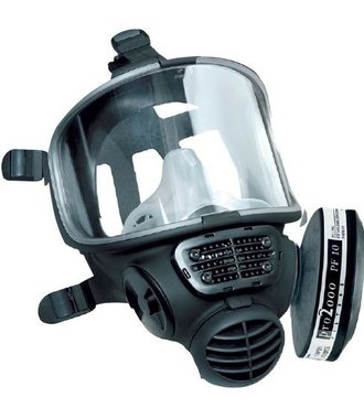 Scott FM3 full face mask with A2B2P3 filter for protection against fine dust, viruses and chemicals