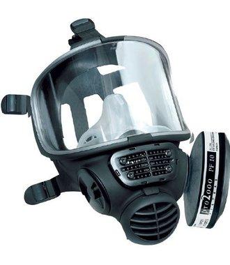 Scott FM3 volgelaatsmasker met A2B2P3 filter voor bescherming tegen fijnstof, virussen en  chemicaliën