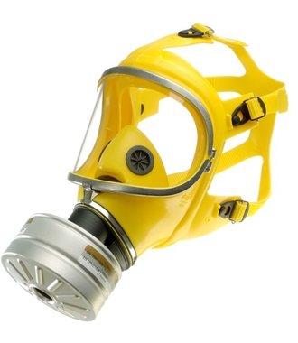 Dräger X-plore 6570 Triplex volgelaatsmasker met A2P3 filter voor bescherming tegen fijnstof, virussen en chemicaliën